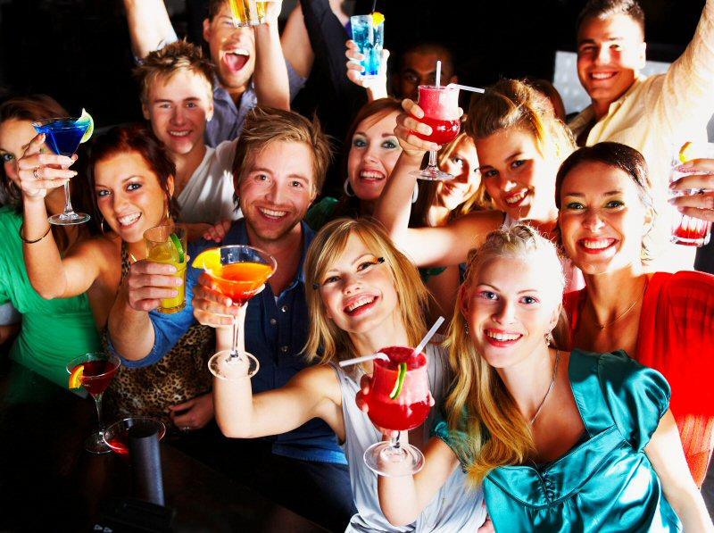 Вечеринка в клубе BLACKOUT