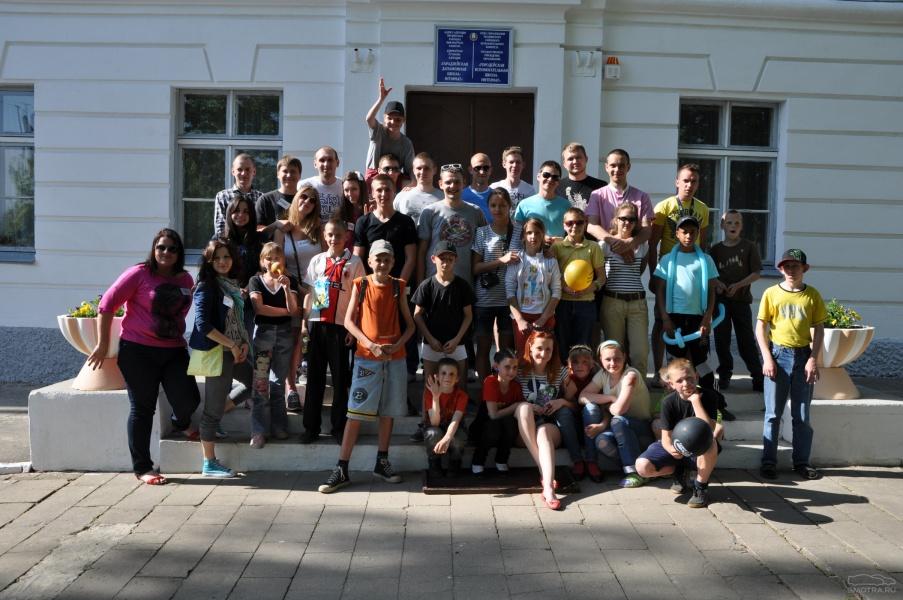 поездка в Городейскую школу-интернат