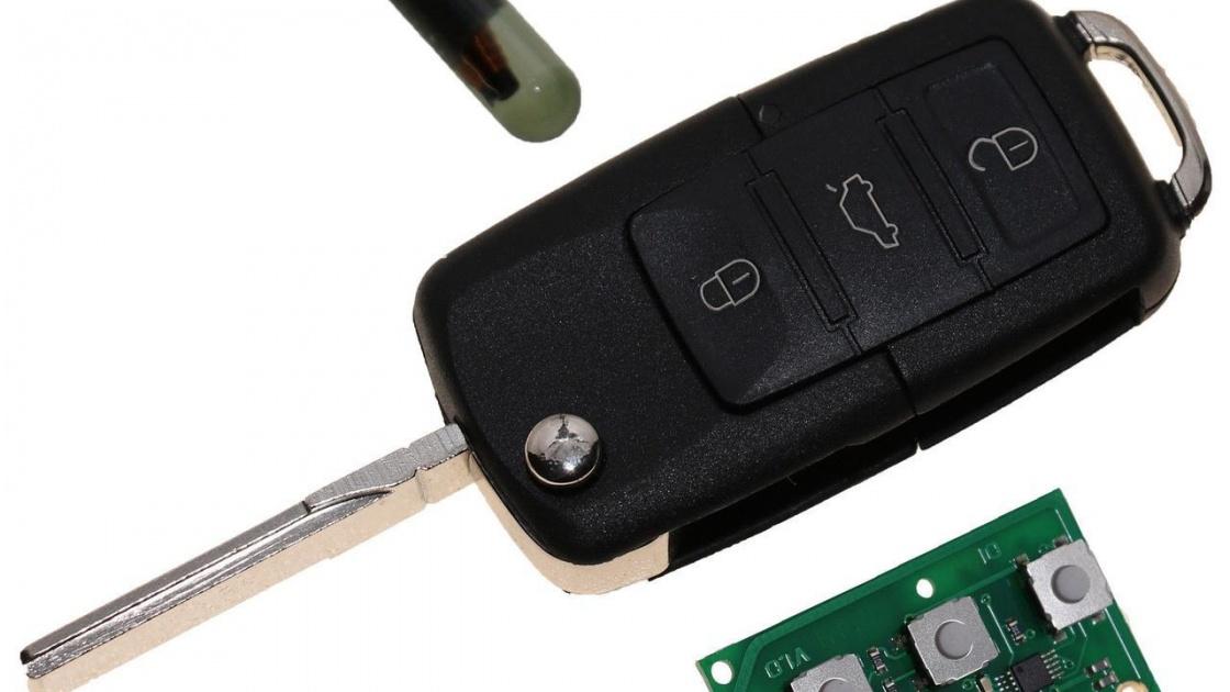 Принцип работы контактного чип ключа (иммобилайзера)