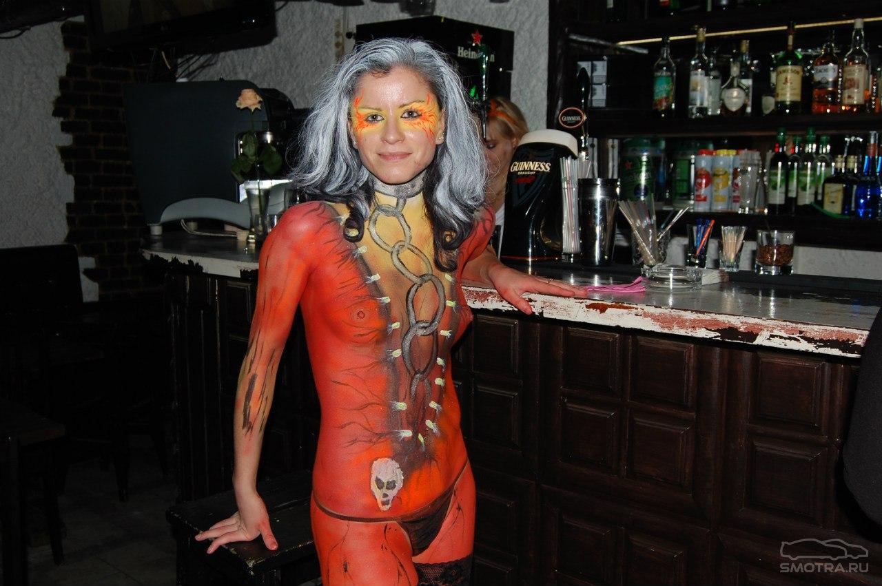 Фото с хеллоуина клубы 3