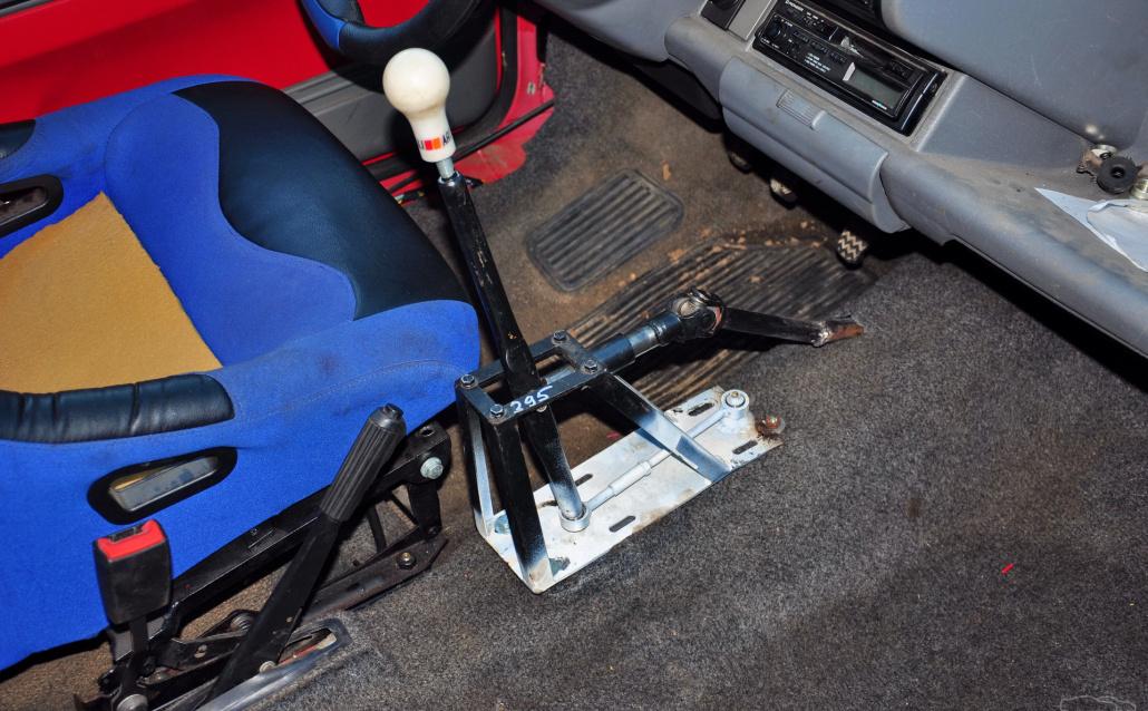 Fiat Cinquecento 2112 16v inside