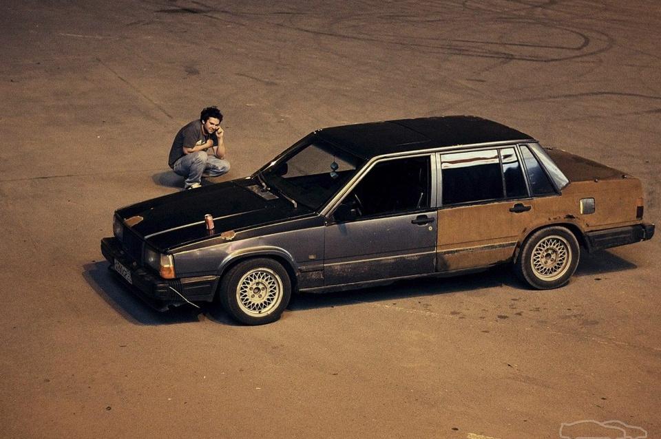 Volvo 740 turbo tramp drift