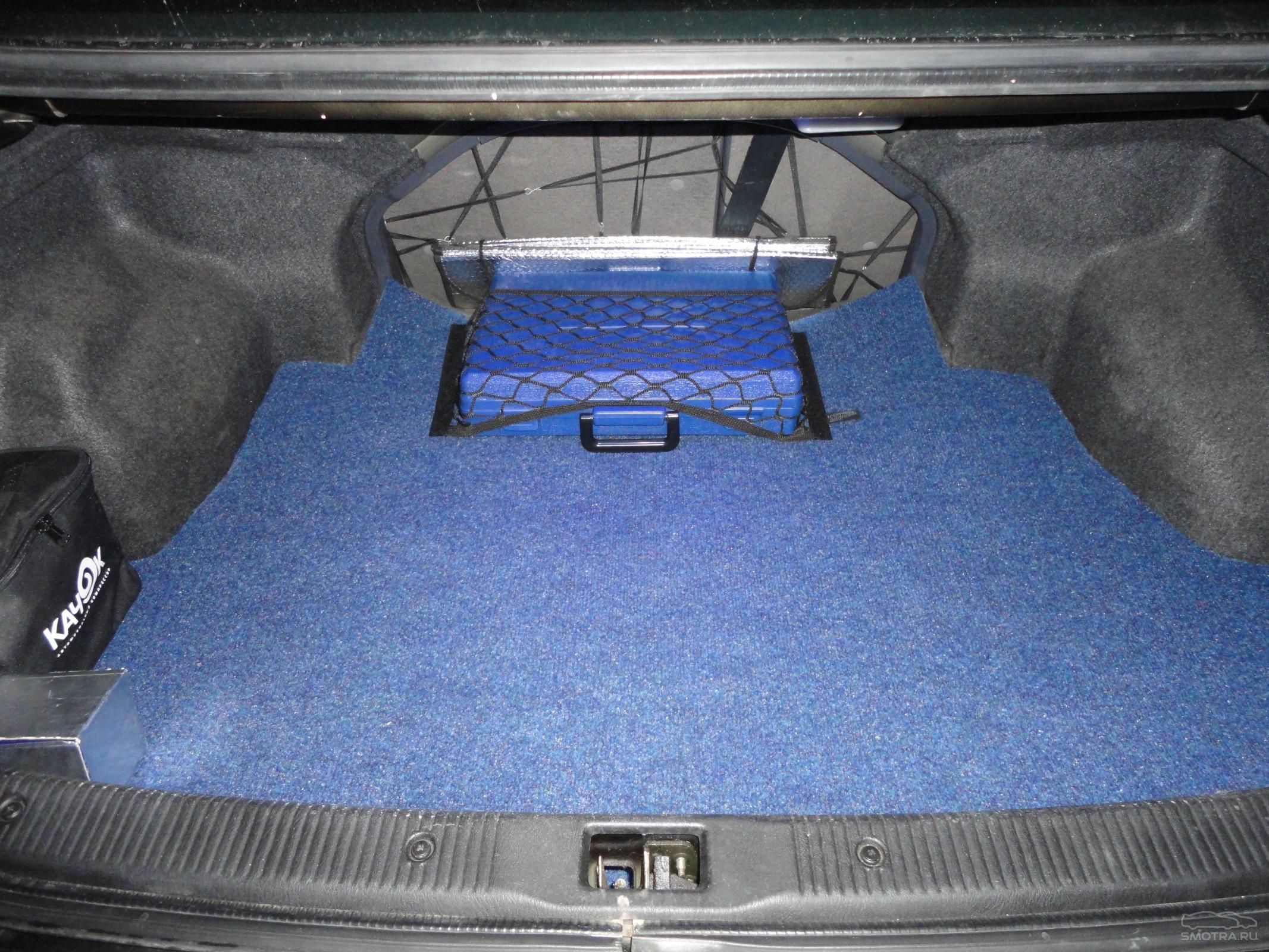 Сделать коврик в багажник своими руками