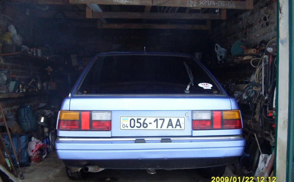 Nissan Stanza Hatchback (T11) Моя Stanza