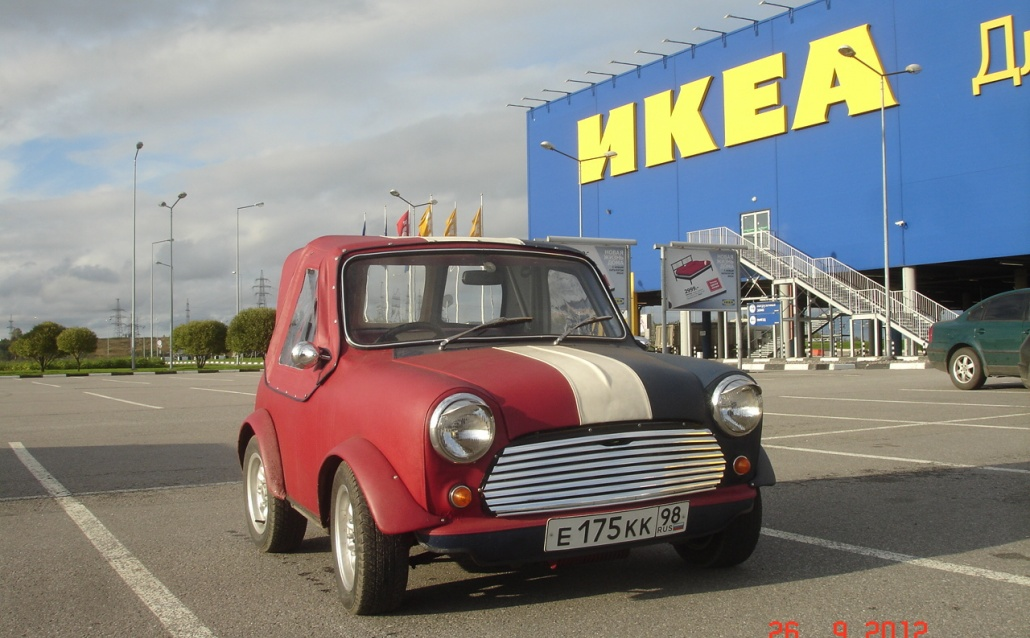 Austin Mini MK I Кроха