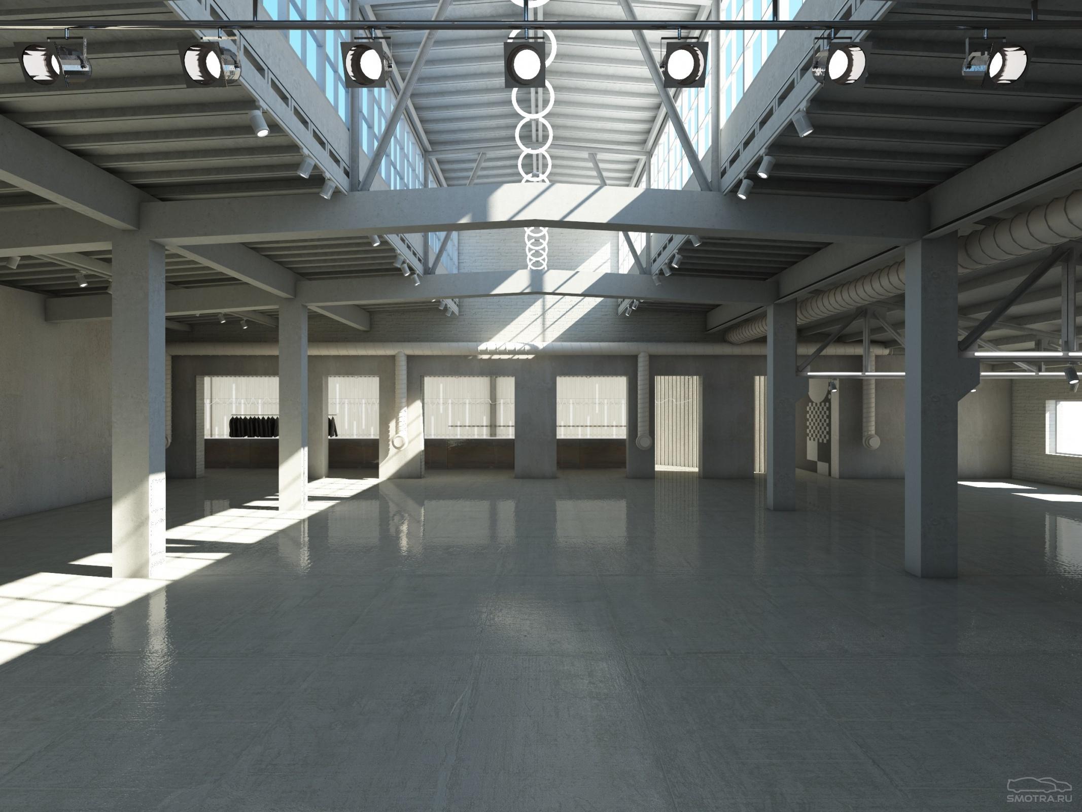 Дизайн завод flacon парковка