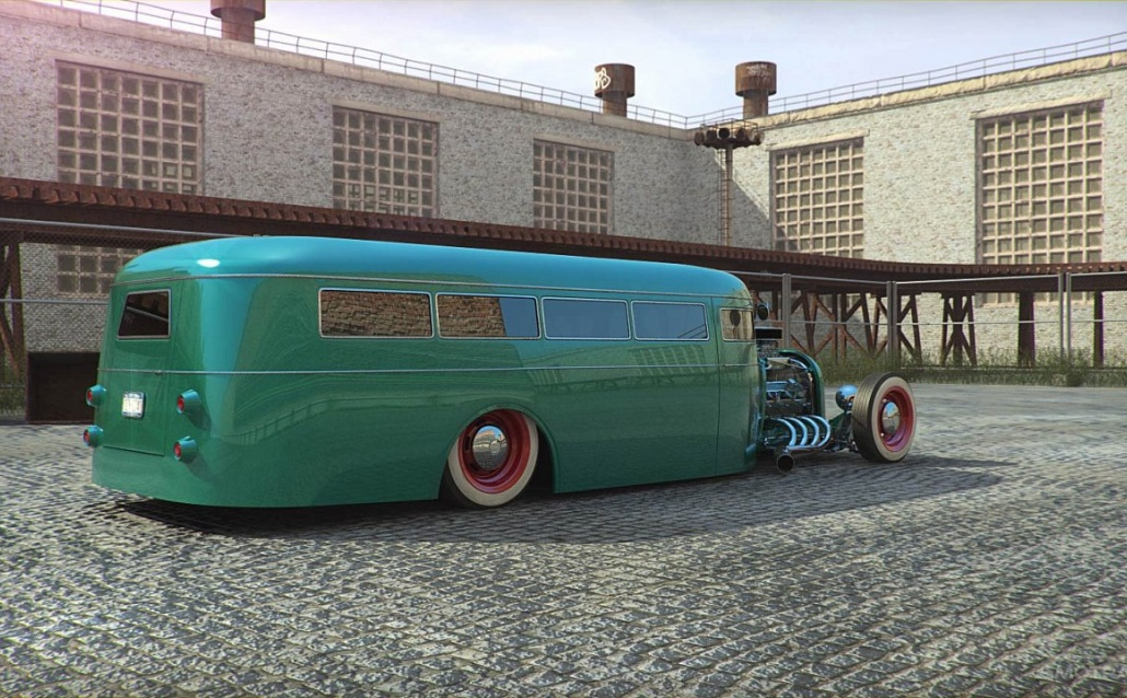 КАВЗик. Hot Rod Bus