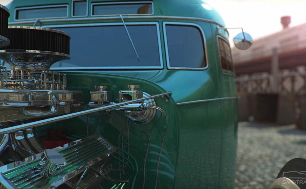 КАВЗик. Hot Rod Bus
