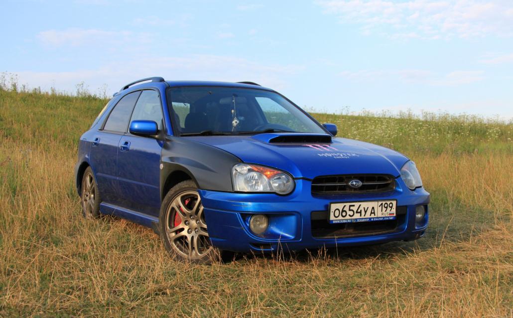 Subaru Impreza Station Wagon II STIshock