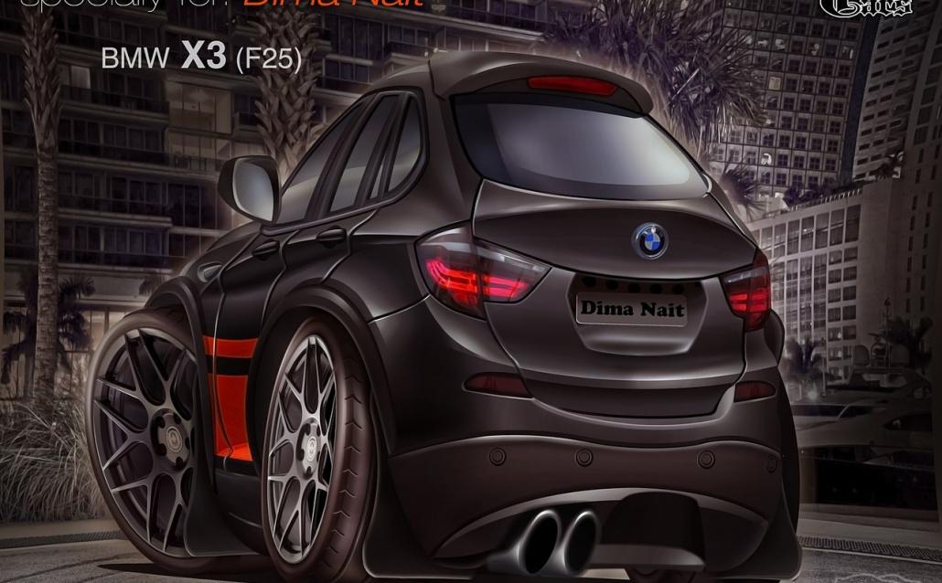 BMW X3 (F25) Дерзкий 3.0 (продан)