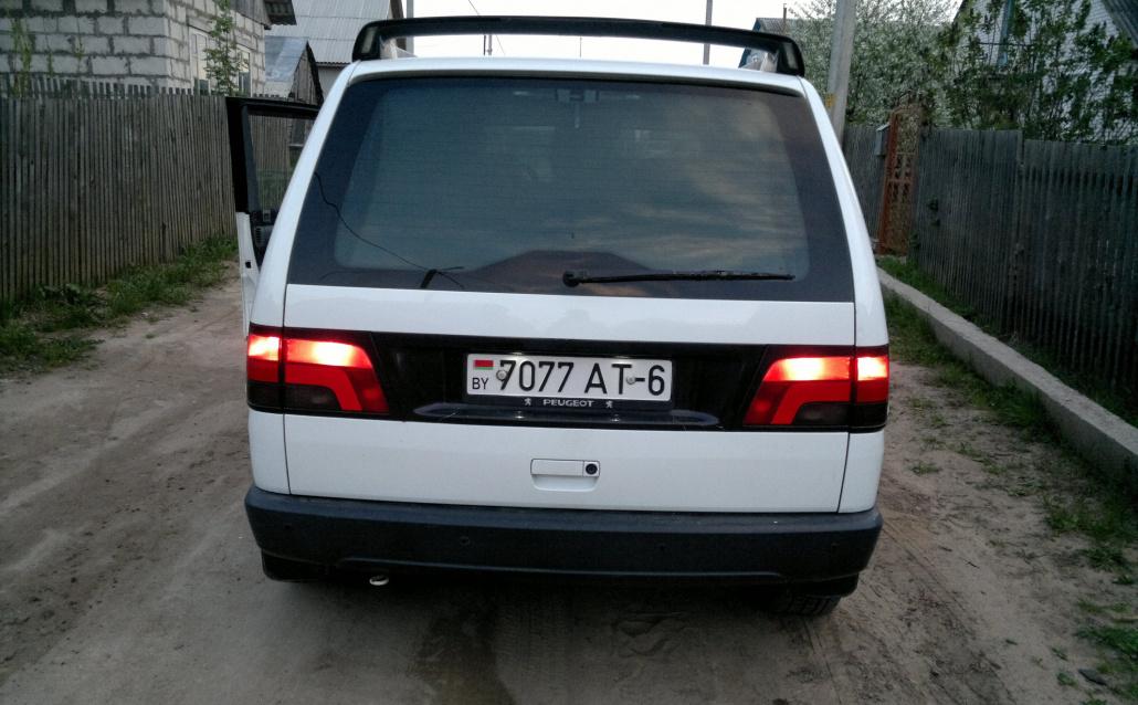 Peugeot 806 White bear