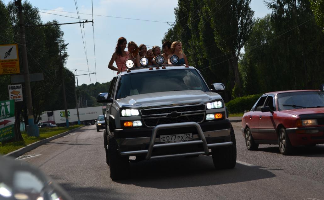 Chevrolet Silverado II бегемот Сильва