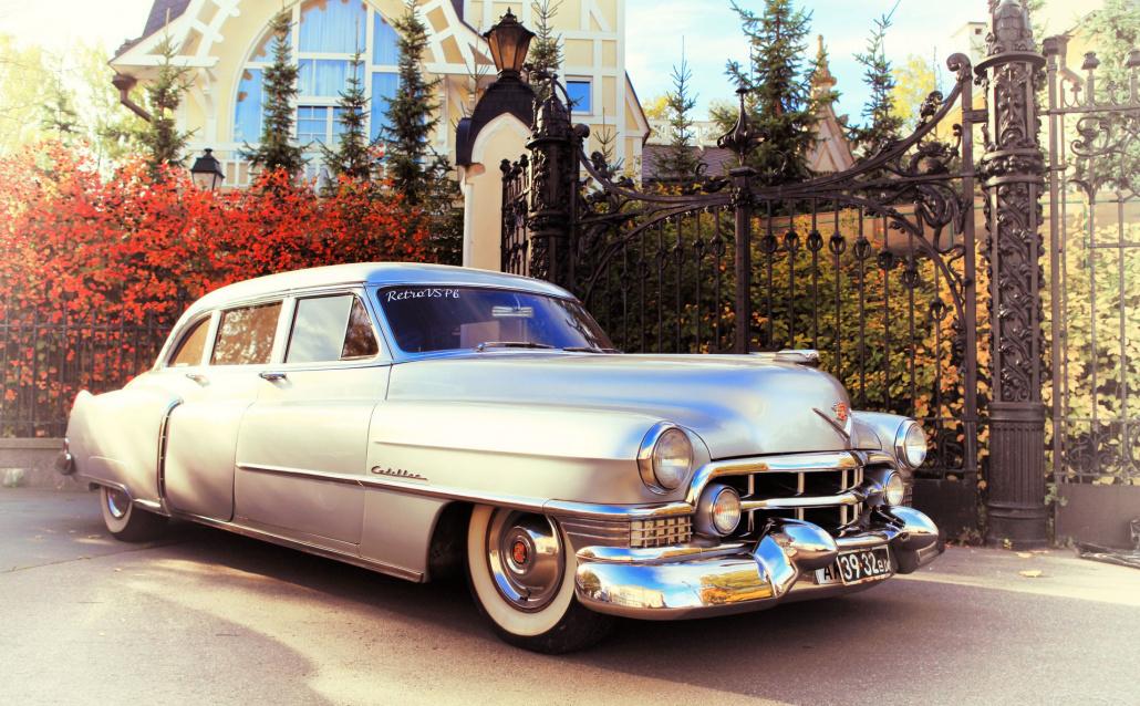 Cadillac Fleetwood Американский ретро