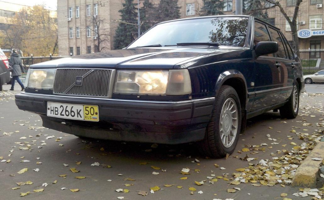 Volvo 960 (964) Olympic (Шведский кожаный диван)