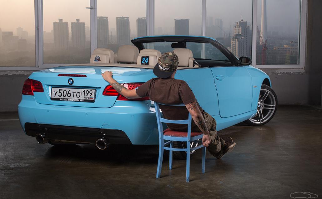 BMW 3er Cabrio (E92) Е93