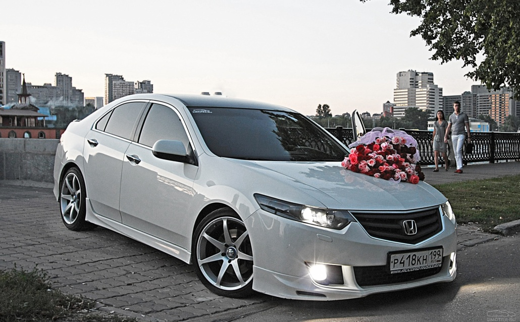Honda Accord VIII Dropped GangSta