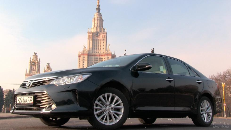 Toyota Camry, V55, 2015г, 3.5, 249 л.с.