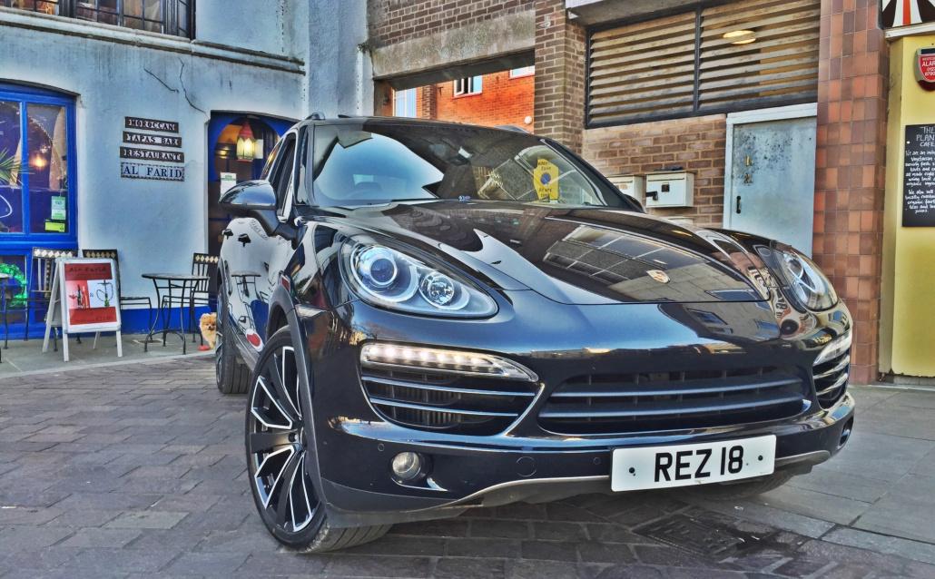 Porsche Cayenne II Лондонский Борще