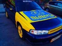 Subaru Legacy II (BD,BG)