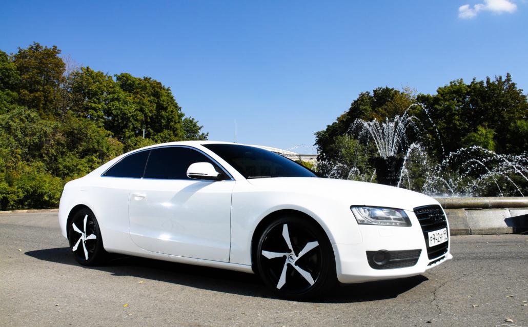 Audi A5 Тапочка в поль!