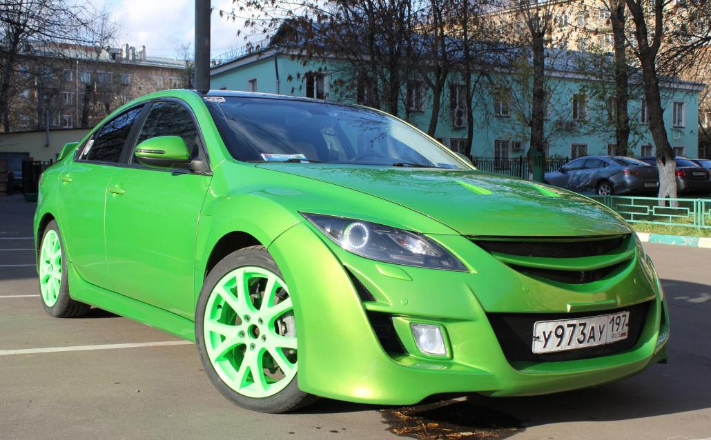 Mazda Mazda 6 (GH) Sedan Лаймка