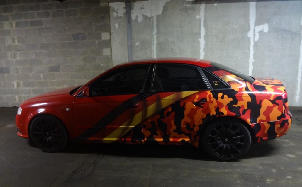 Audi A4 (8E) Муррр