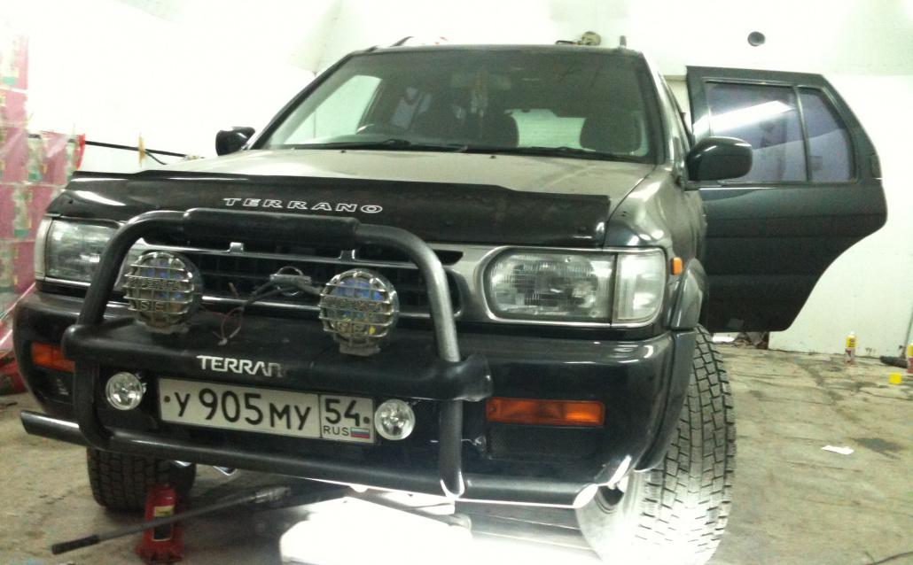 Nissan Terrano I (WD21) Бывший Танк