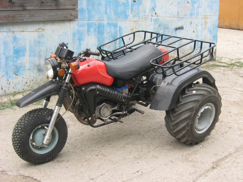 Как сделать трицикл из мотоцикла тула 30