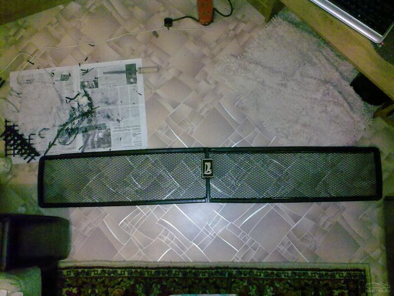 Решетка радиатора 2106 своими руками фото