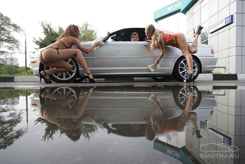 Секс на автомойки 25 фотография