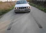 White BMW 525i