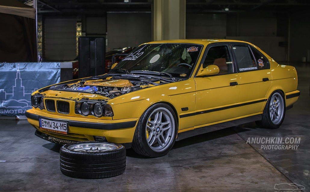 BMW M5 (E34) World FASTEST saloon №1㋡
