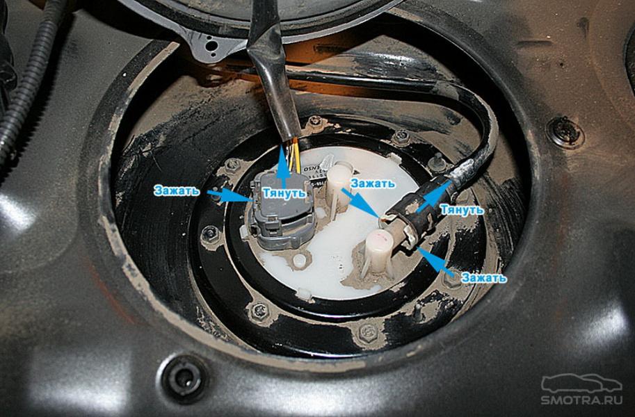 Замена топливного фильтра опель астра н 1.6