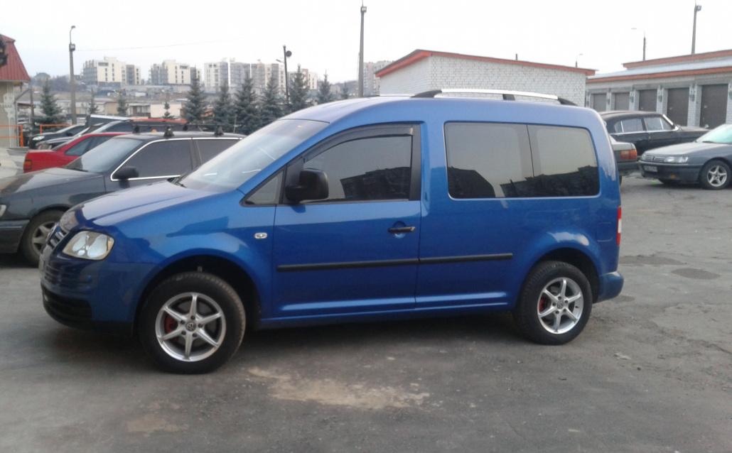 Volkswagen Caddy Тракторец