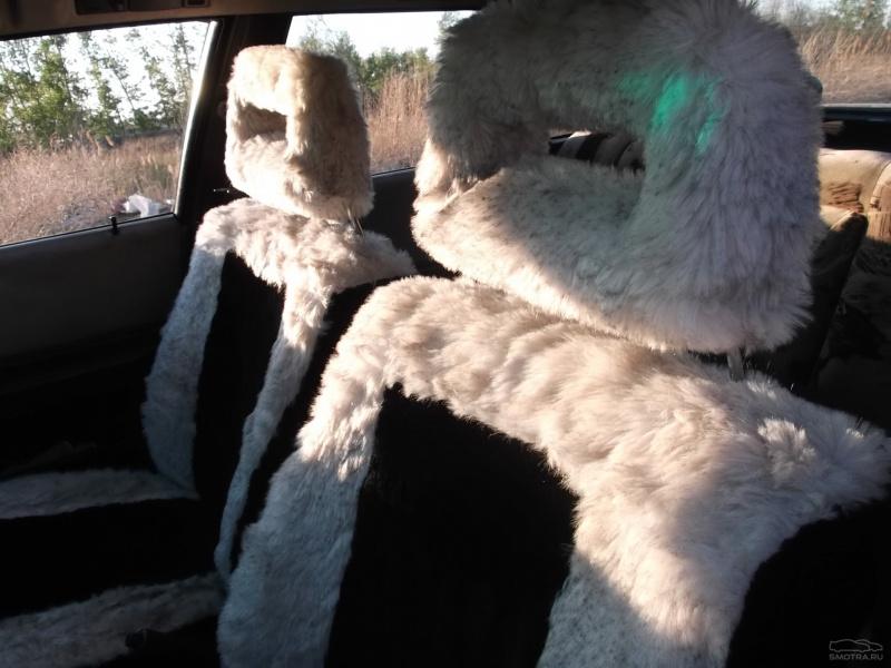 Меховые чехлы в машину своими руками