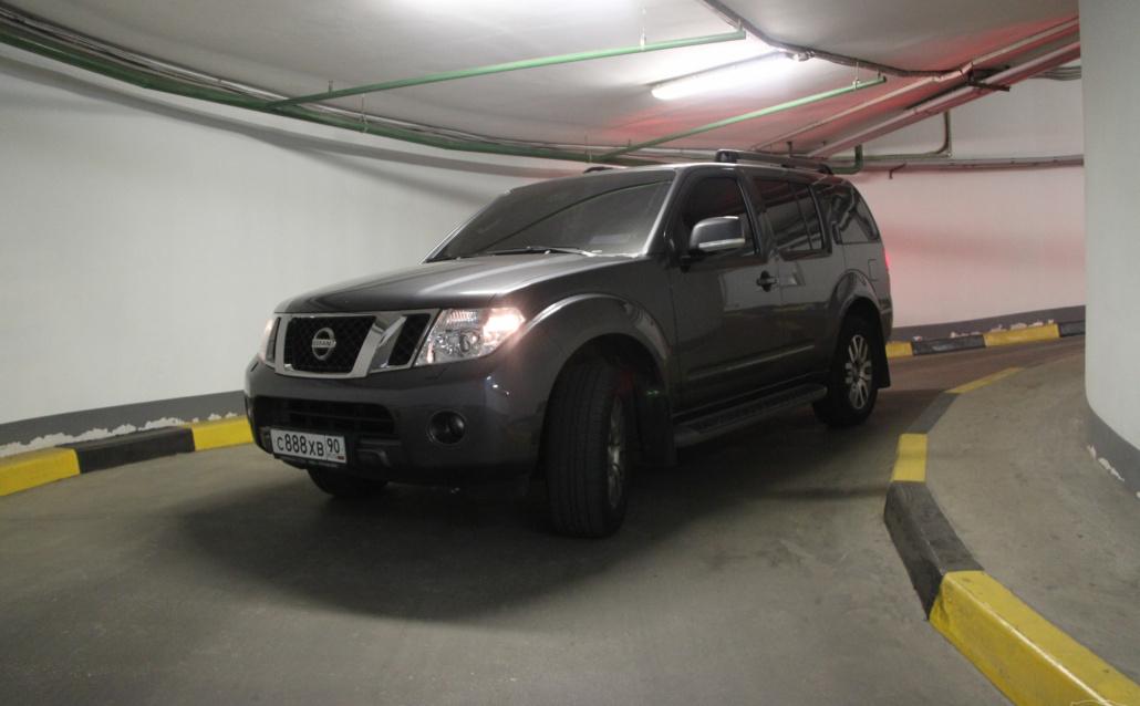 """Nissan Pathfinder III Его Величество """"Пафик"""""""