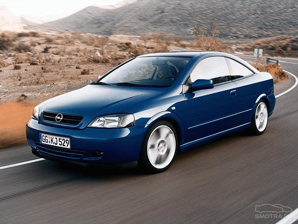 2000 Opel Astra Coupe Turbo.