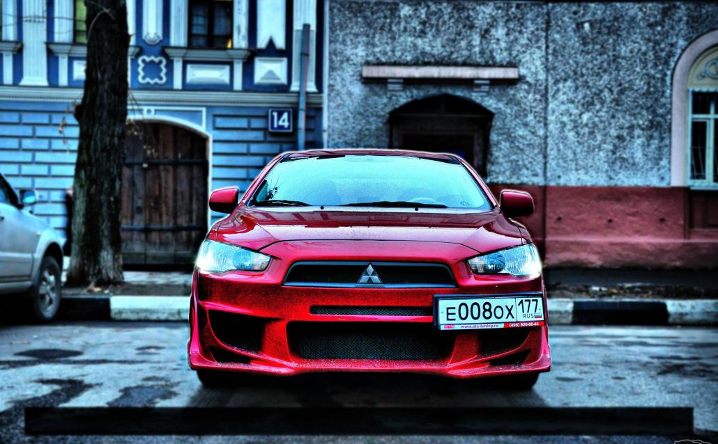 Mitsubishi Lancer X Ланс :)