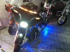 Harley-Davidson 1340 FLHTC (with sidecar)