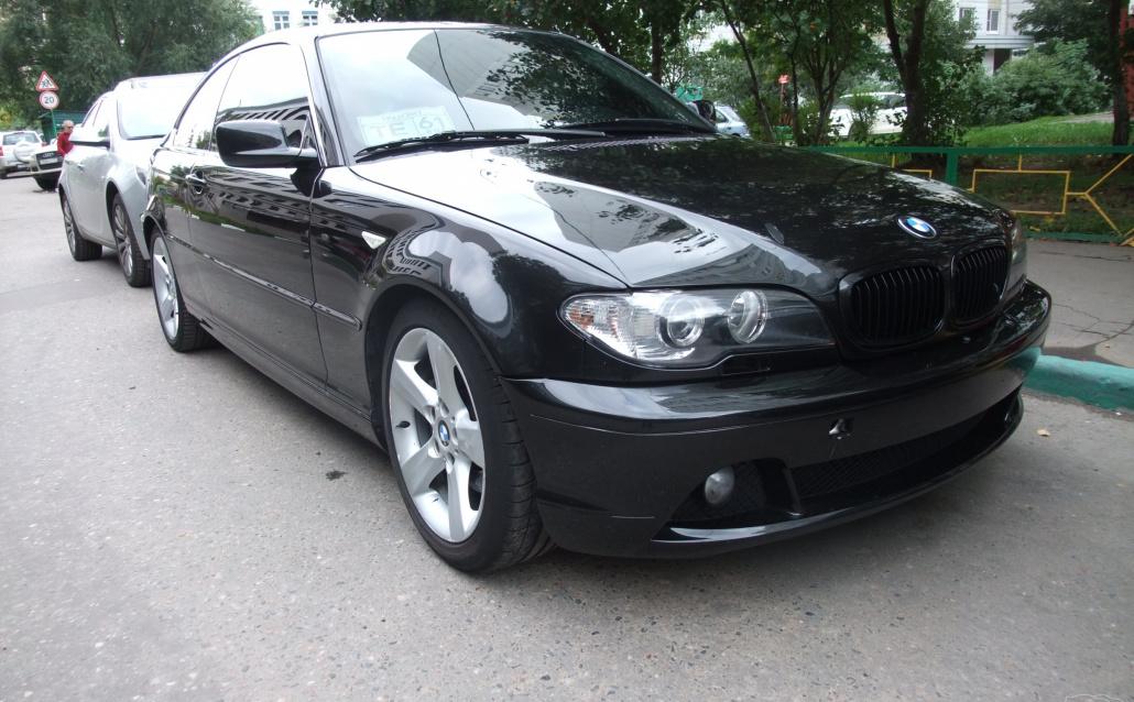 BMW 3er Touring (E46) Black Lama