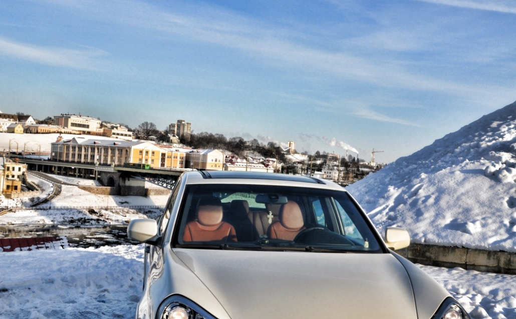 Porsche Cayenne (955) Facelift  Сметанный