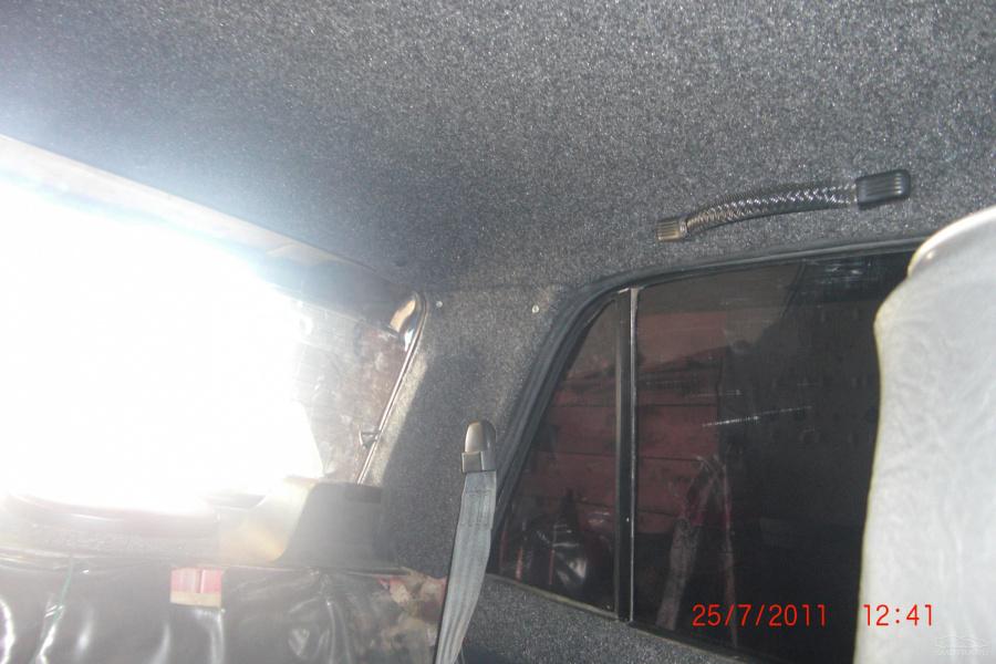 Замена обшивки потолка ВАЗ классики О Ладе 82