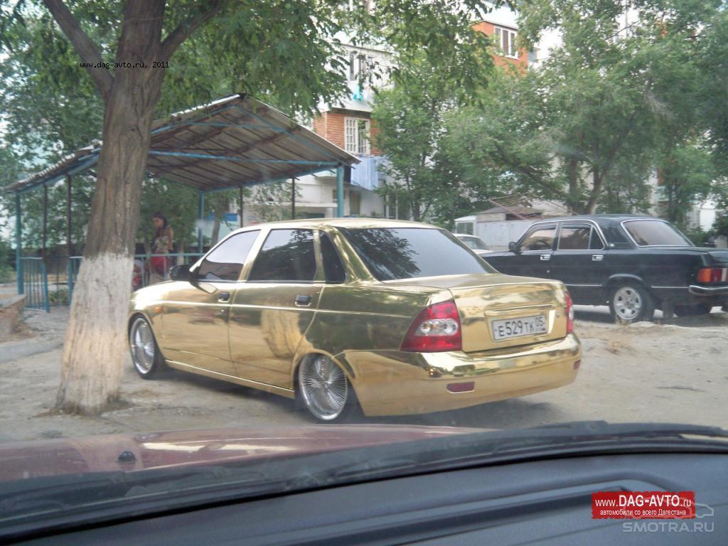 Золотая Лада Приора.