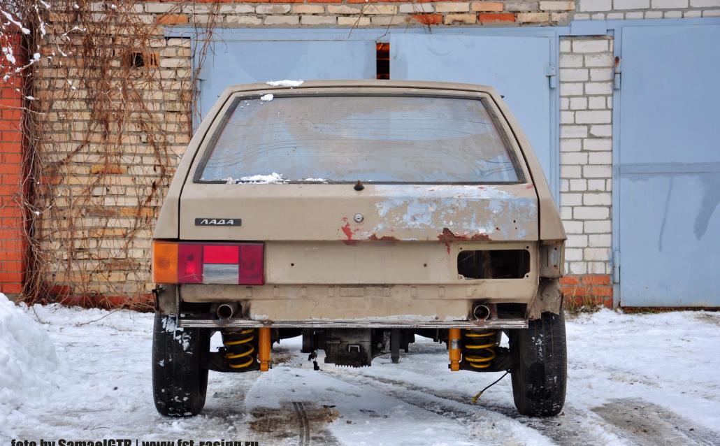 ВАЗ 21081 2108 4WD Turbo by FST