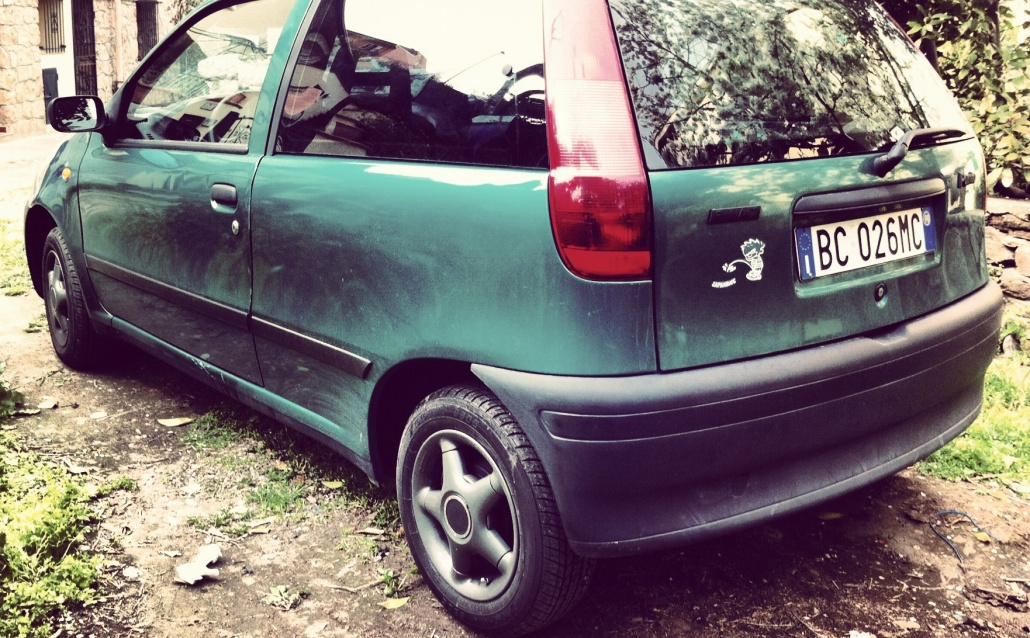 Fiat Punto I (176) Овощ