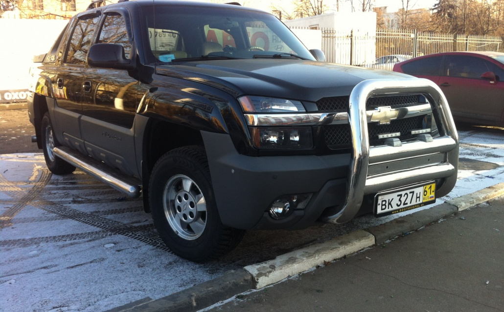 Chevrolet Avalanche Аваланш