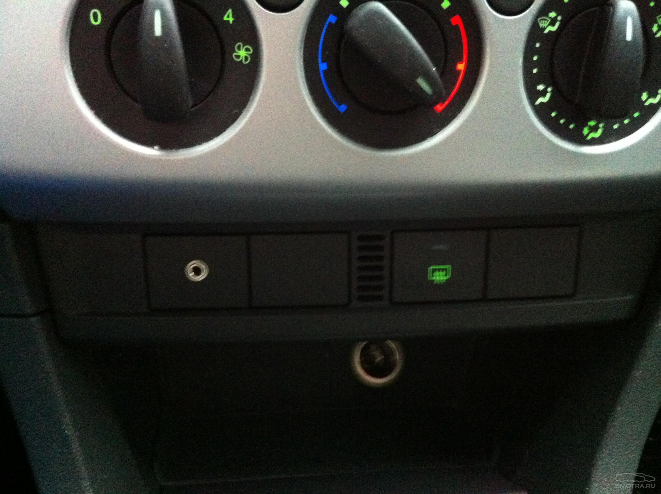 Где находится AUX выход и как подключить разъём в Форд Фокус 2 82