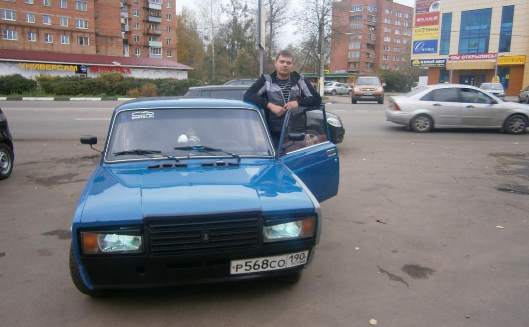 """ВАЗ 21074 """"синее ведро"""""""