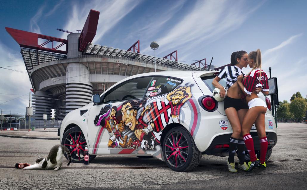 Alfa Romeo MiTo Alfa Romeo MiTo Milan vs Juventus