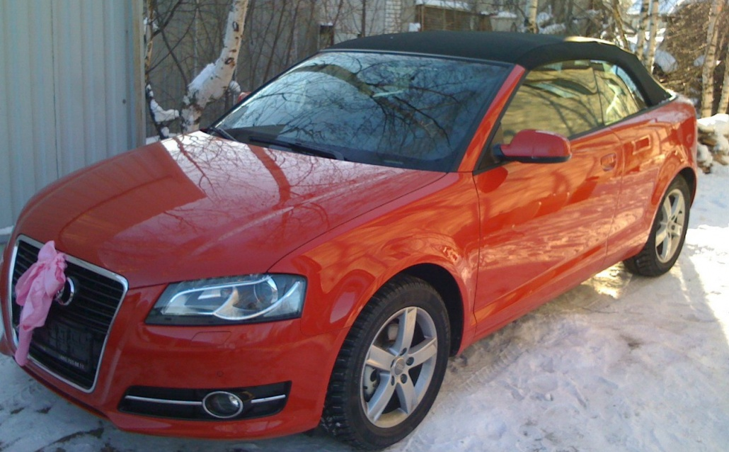 Audi A3 Cabriolet Дюша